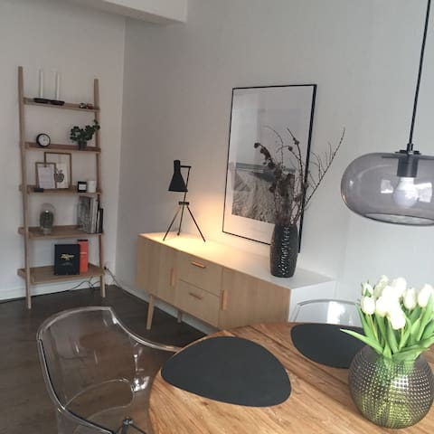 Nice Nordic flat in the center of Herning