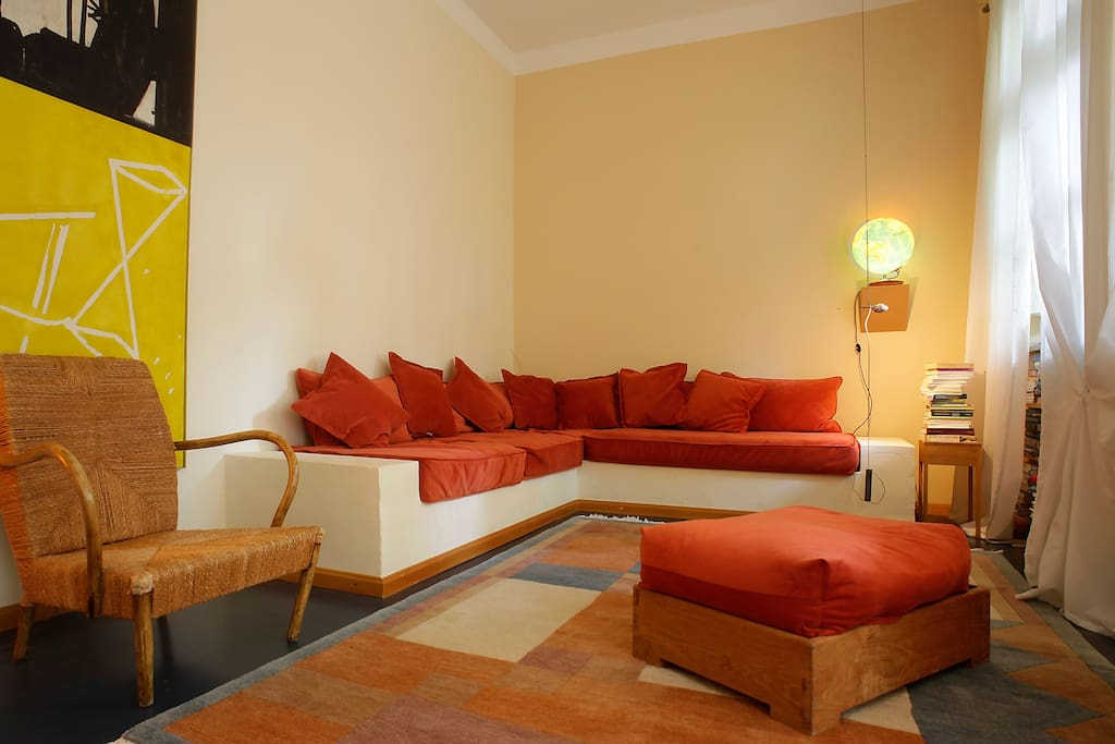 The most comfortable sofa for the 5th guest!