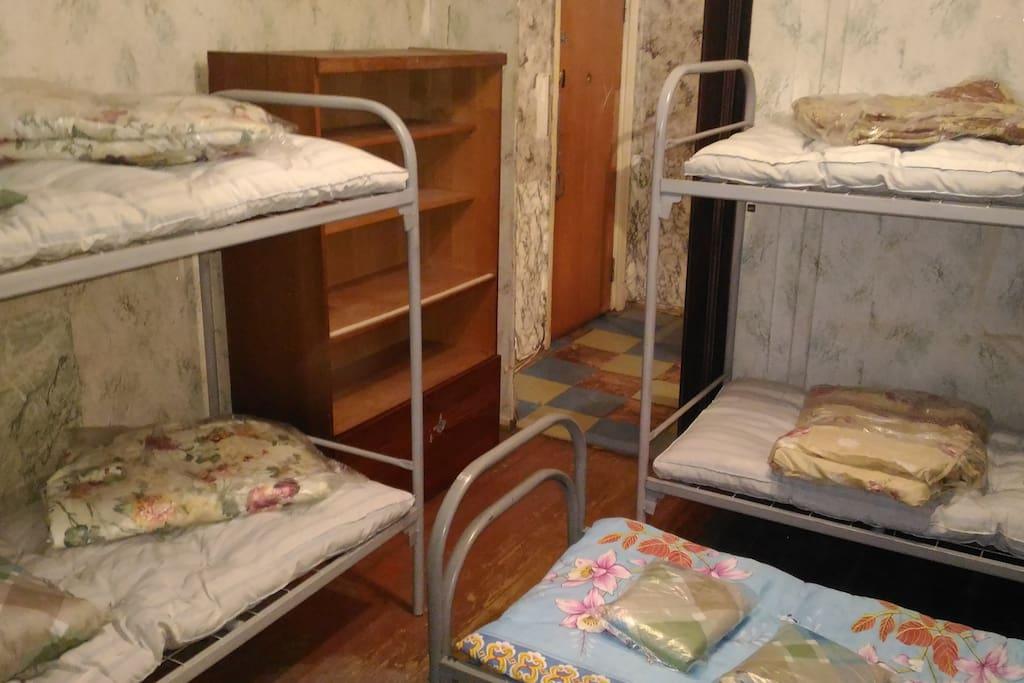 две уютные смежные комнаты