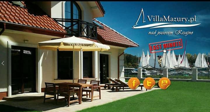 VillaMazury luksusowy dom letniskowy Giżycko