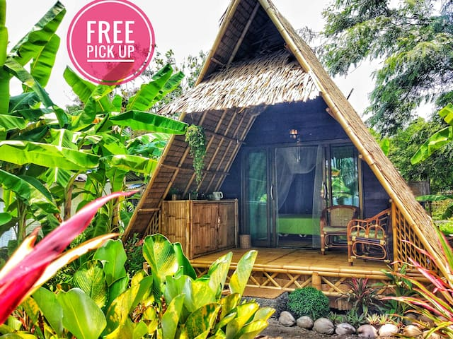 Seaview A-frame💚 ECO Bungalow-2