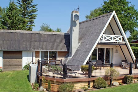 Ruim vakantiehuis met overdekt terras in Haderslev