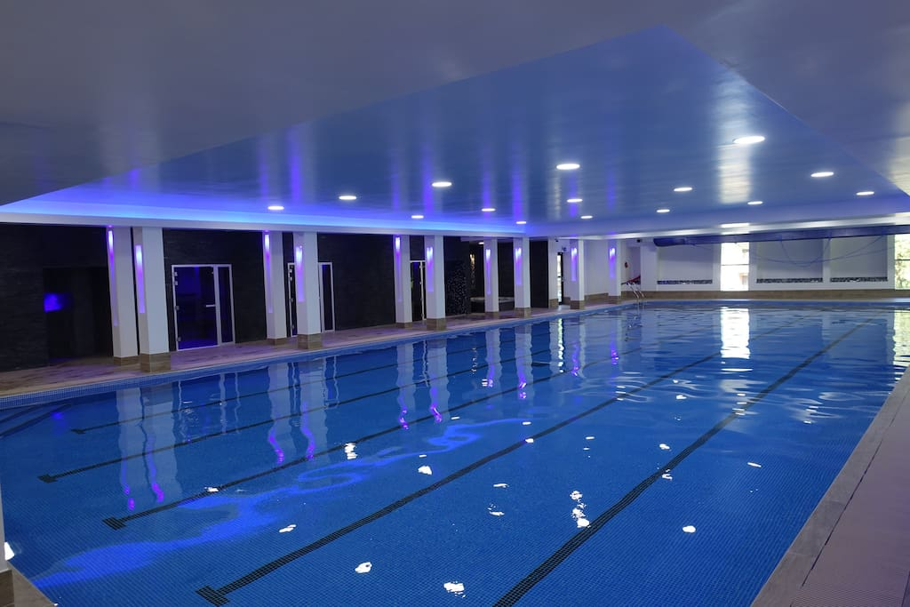 Swimming Pool at Leisure Centre