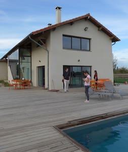 Maison dans la Dombes, à 30 minutes de Lyon