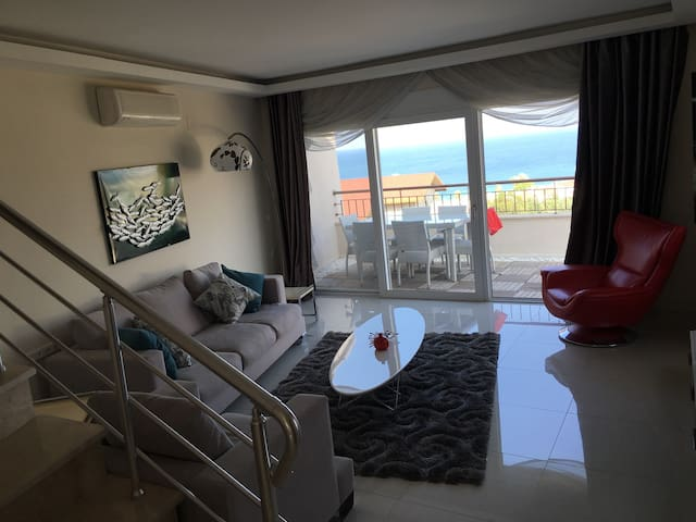 Stunning Sea View Penthouse- Alanya