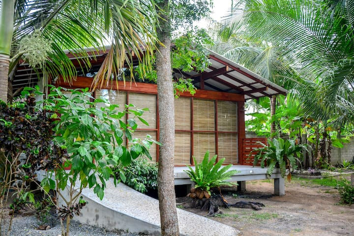 Neem Hikkaduwa-Calmness of a green garden near sea