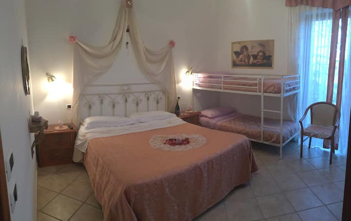 Cozy Double Room on the top of Amalfi Coast!