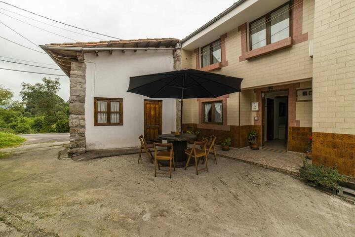 Casa de vacaciones 4 p. San Roque - San Roque del Acebal - Дом