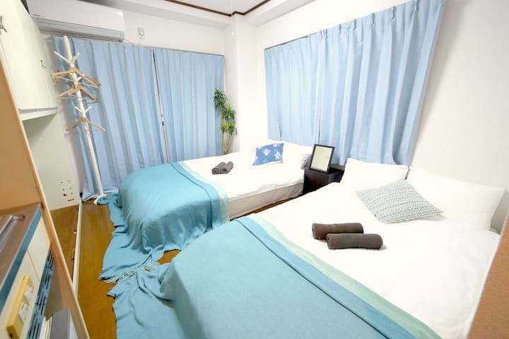 2BD/ PERFECT FOR LONG STAY, 6MINS SHINJUKUGOCHOME