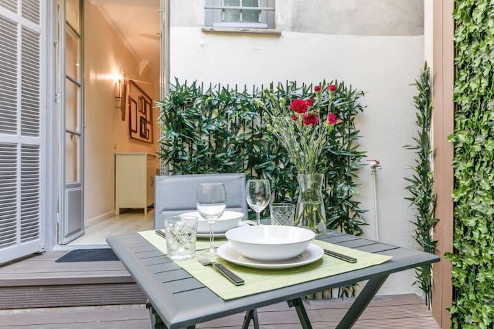 Appartement en plein cœur de Nice