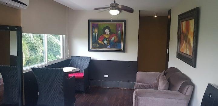 Hermoso estudio con cocina y baño privado A/A 1113