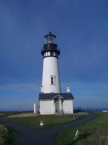 Yaquina Head Lighthouse - Tour to the top