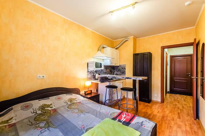Квартира с балконом на Волгу