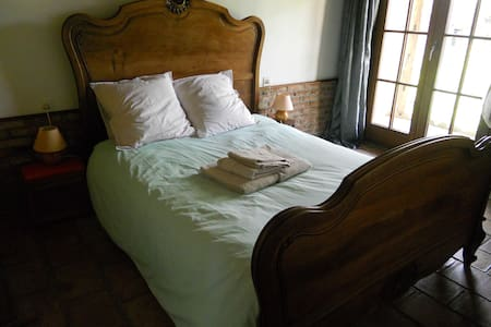 Chambre tranquille avec accès au jardin - Corbie - 独立屋