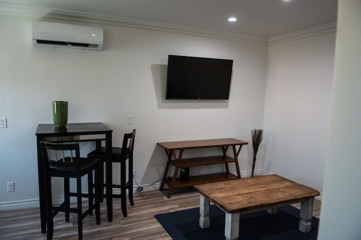 Living Room With Entertainment Area