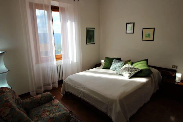 """Olive"" bedroom"