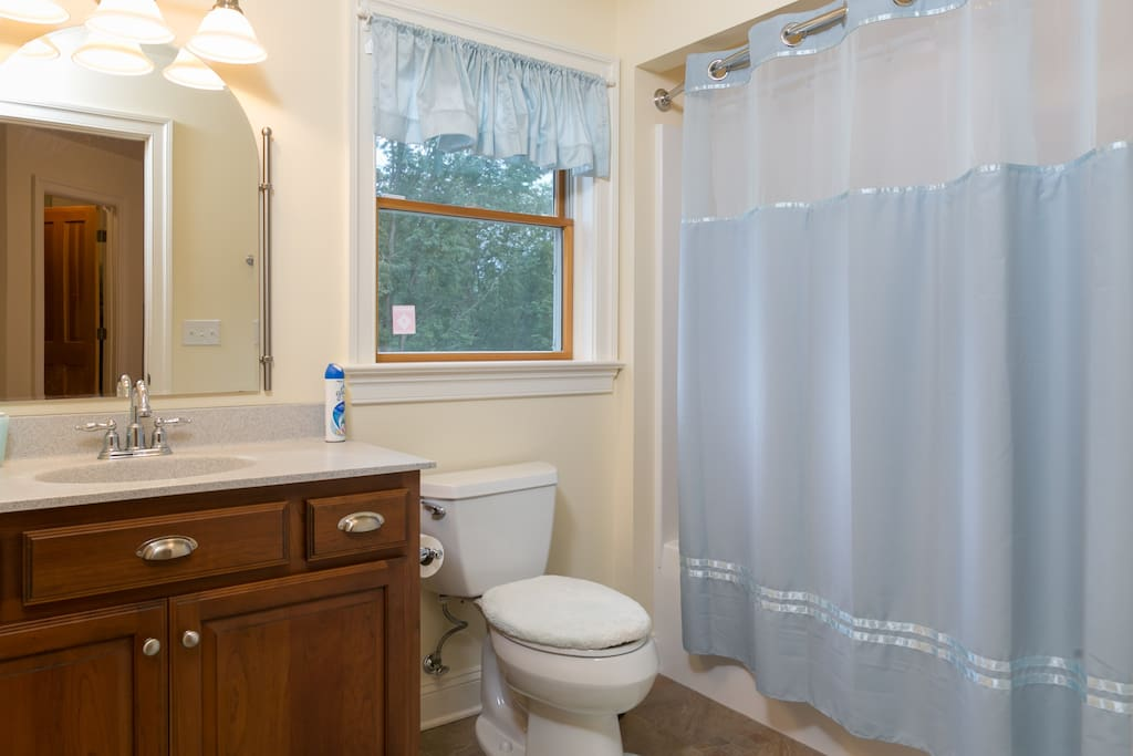 2nd floor: Guest suite ensuit bathroom