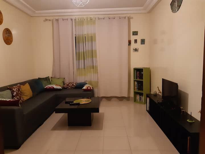 Adorable appartement à Mermoz