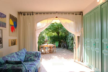 Jolie appartement devant la mer,avec jardin - Grimaud - Apartamento