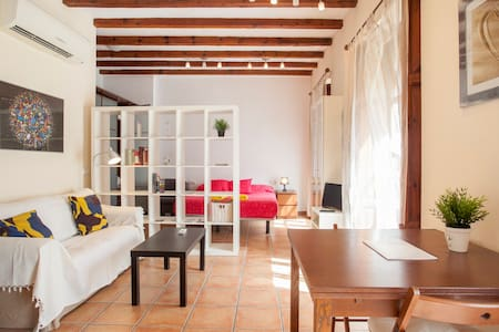 Cozy flat by the Central Market in old Valencia*** - València