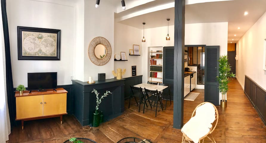 Charming new T2 of 45m2 in the heart of Bayonne