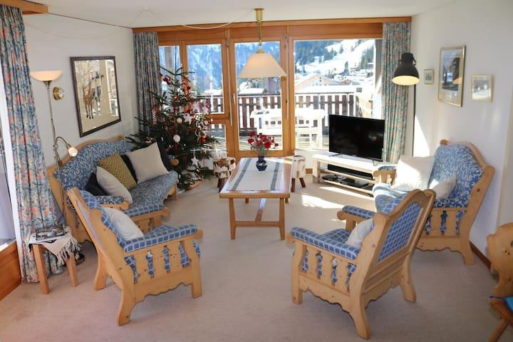 Splendid apartment with panoramic stunning views