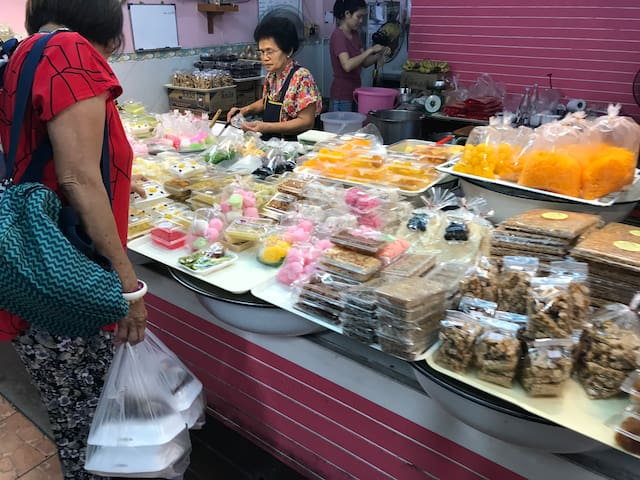 Thai style sweets