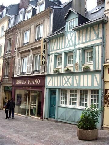 Gite de rouen avec son grand garage - Rouen - Casa
