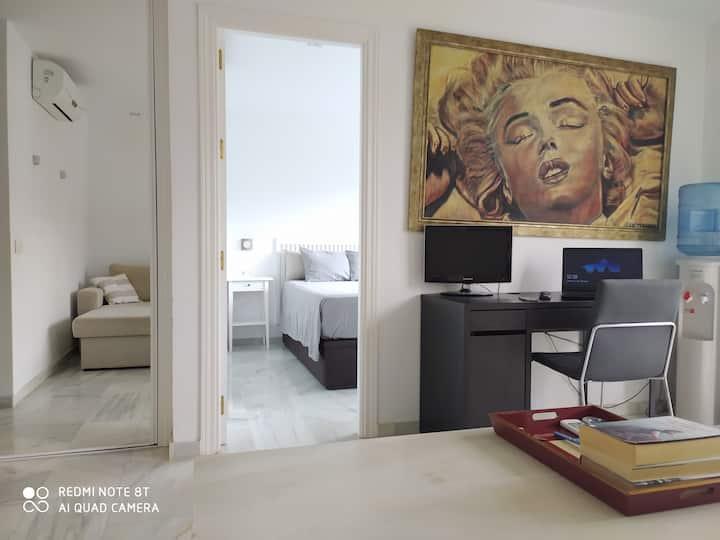 Apartamento en la mejor ubicación de Marbella.