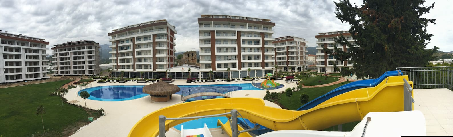 Alanya Antalya 2+1 full donanım site yazlık daire