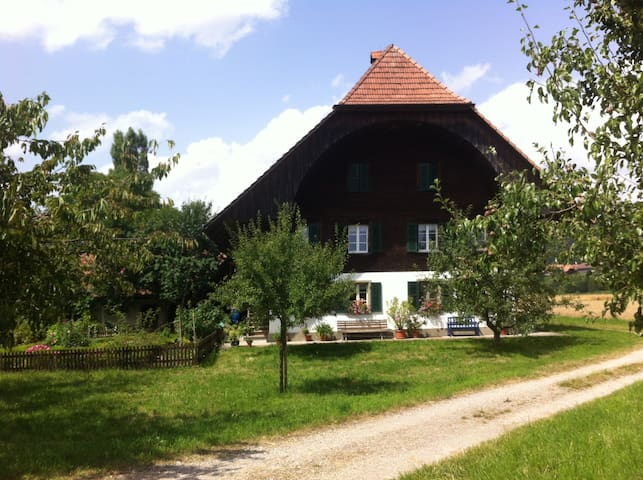 Wohnung im Grünen ( 1-3 Pers.) Gross, ruhig - Rüderswil - Wohnung