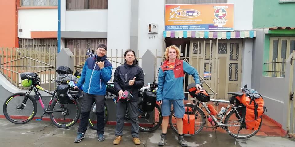 Casa del Ciclista Recrear Ipiales