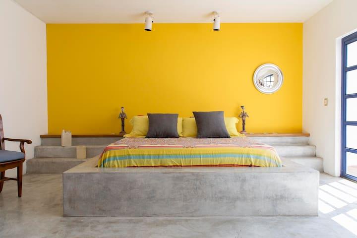 Suite 1 in Casa Matilda. Mexican contemporary Home