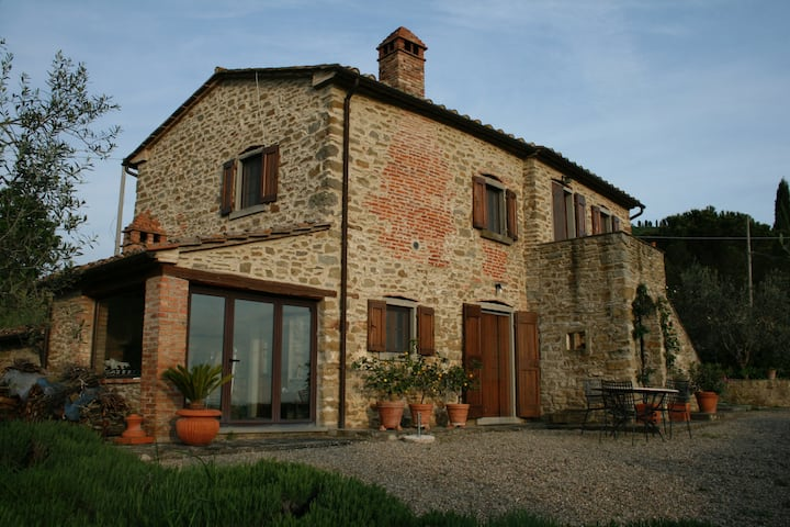 700 year old restored tuscan home