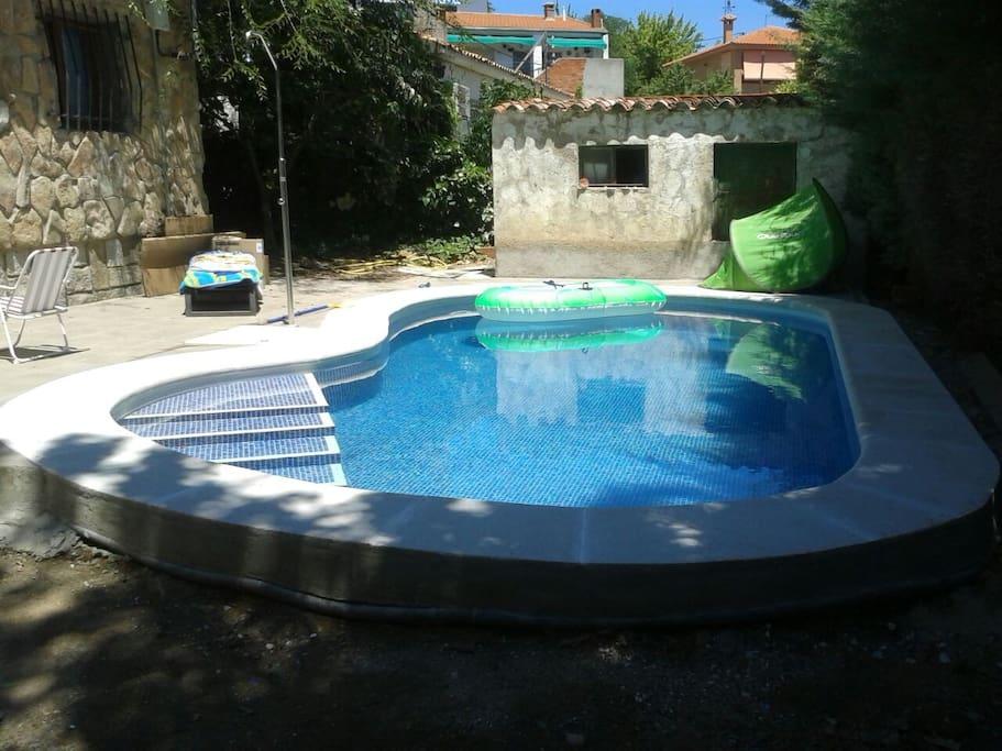 Casa encantadora con piscina privada casas de campo en for Casa con piscina privada alquiler