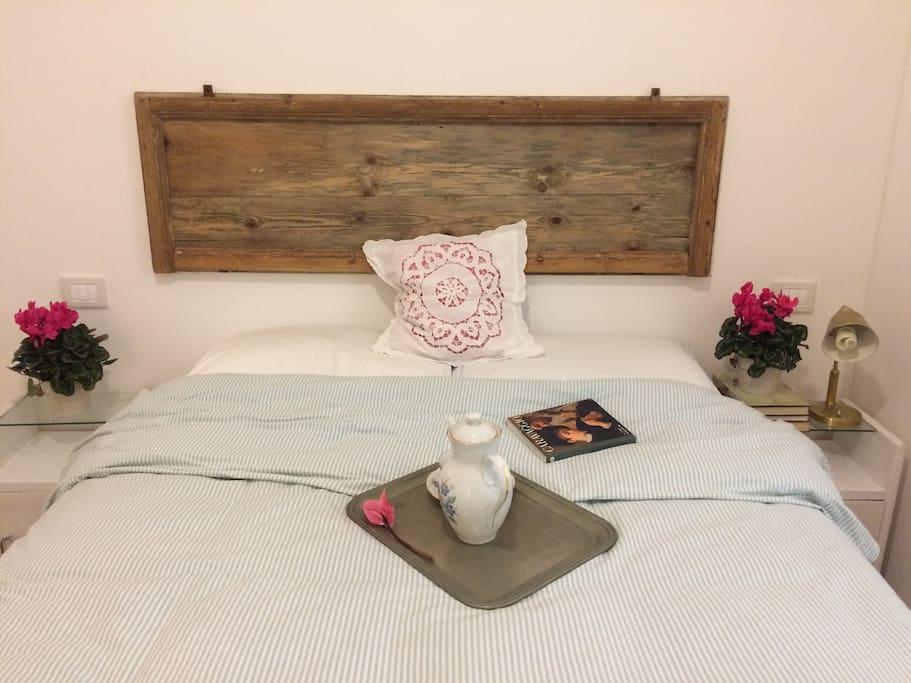 Cozy double bed