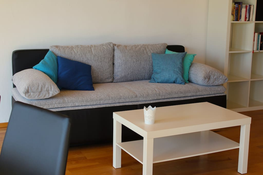 Sofa, Bettsofa 1,60 x 2 m