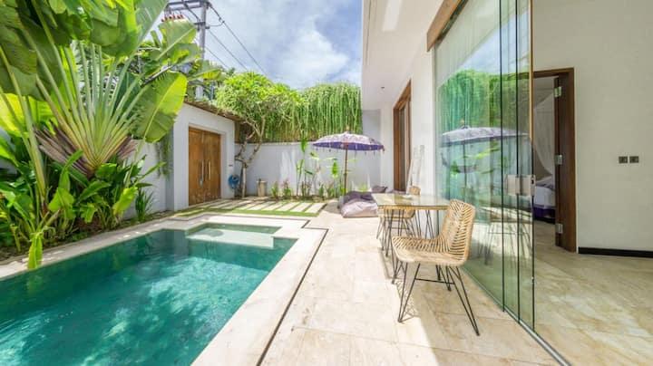 Villa 1 bedroom pool 2 pax