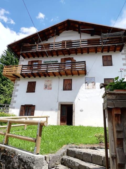 Sole, pace e tranquillità ai piedi delle Dolomiti