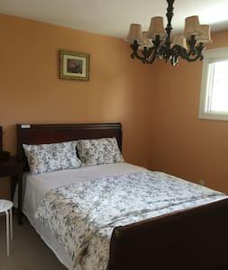 Kelowna 2nd floor queen bed room #1 - West Kelowna