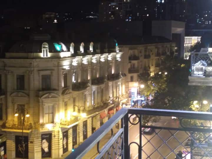 Panorama City Center and Sea View Balcony