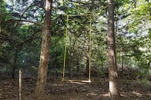 Choctaw Treehouse Couples swing