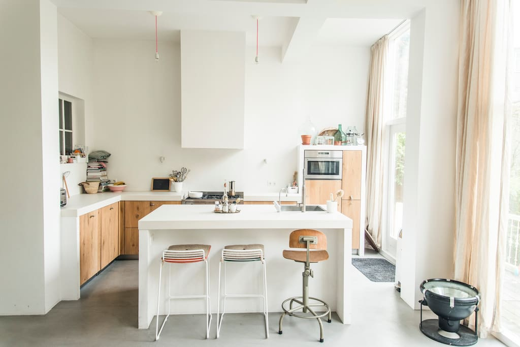 Open keuken/kookeiland