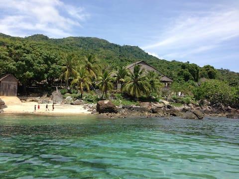 Maison d'hôte sur ile paradisiaque