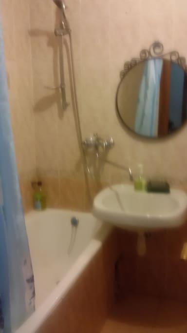 Ванная, душ