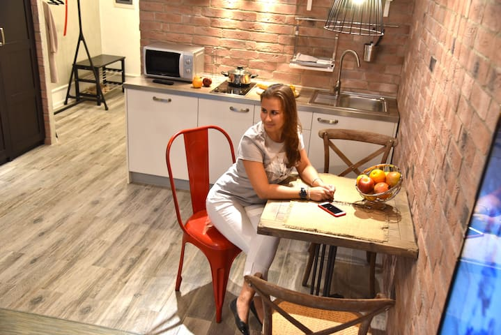 Happy Home Apartment. LOFT red - Arkhangel'sk - Leilighet