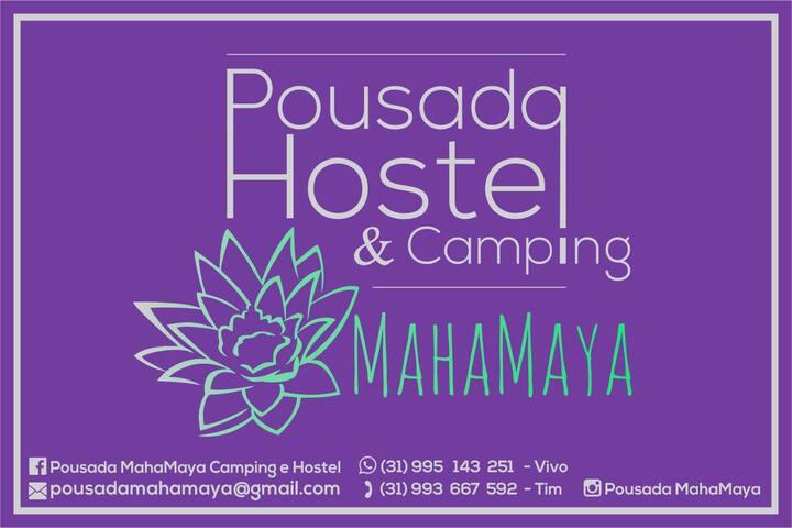 Casa  e Pousada MahaMaya 🌿