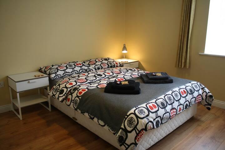 Spacious Double Room in City Centre - Dublin - Apartment