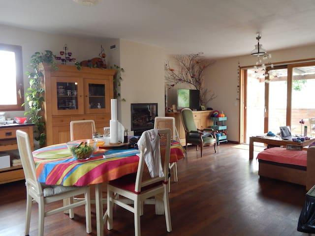 une chambre à l'ostal del hòrt - Olargues - Rumah