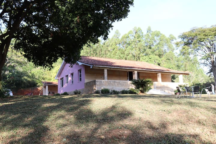 Sede de Fazenda de Café - Casa Rosa - Familiar